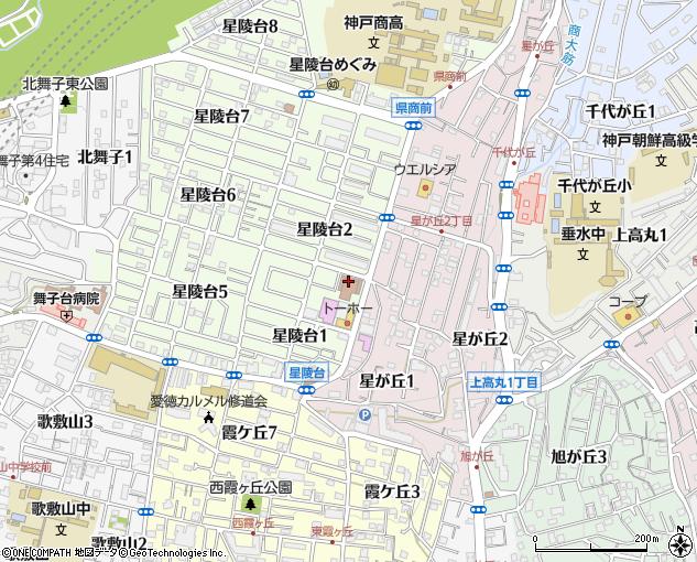 垂水郵便局配達(神戸市/郵便局・日本郵便)の地図・住所 ...