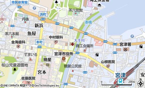 宮津簡易裁判所(宮津市/官公庁・公的機関)の住所・地図 マピオン電話帳