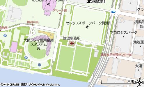 舞洲運動広場(大阪市/娯楽・スポーツ関連施設)の住所・地図 ...