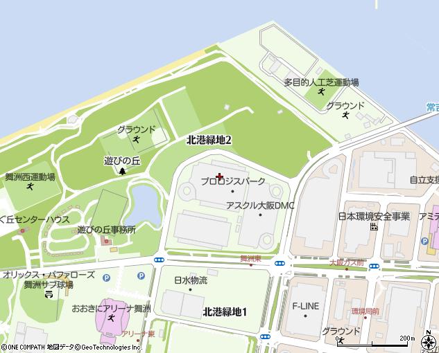 プロロジスパーク舞洲3(大阪市/工場・倉庫・研究所)の住所・地図 ...