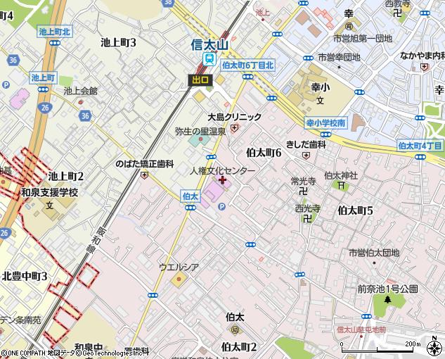 和泉市立 市民文化ホール(和泉市/会館・ホール)の地図・住所 ...