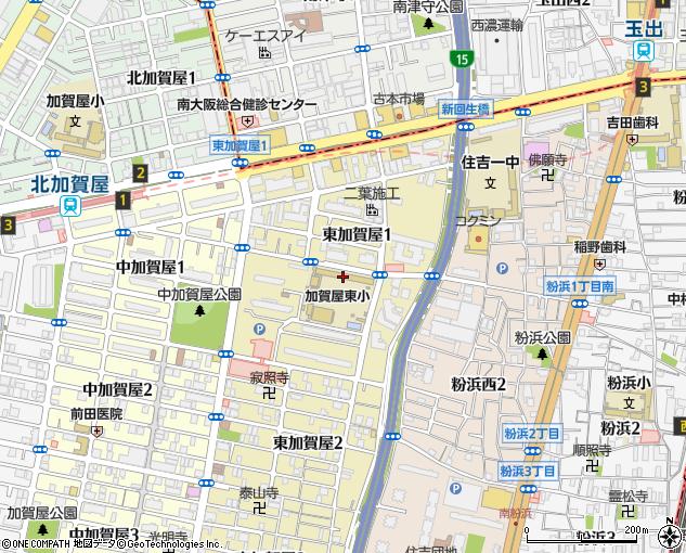 大阪市立加賀屋東小学校(大阪市/小学校)の電話番号・住所・地図 ...