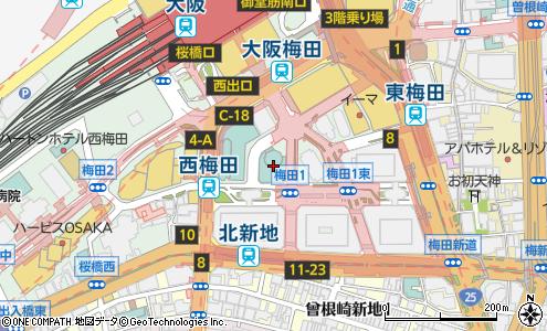 701f77f727d32 セントアクアチャペル梅田(大阪市 結婚式場)の地図・住所・電話番号 ...