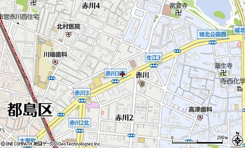 旭赤川郵便局 ATM(大阪市/郵便局・日本郵便)の電話番号・住所 ...
