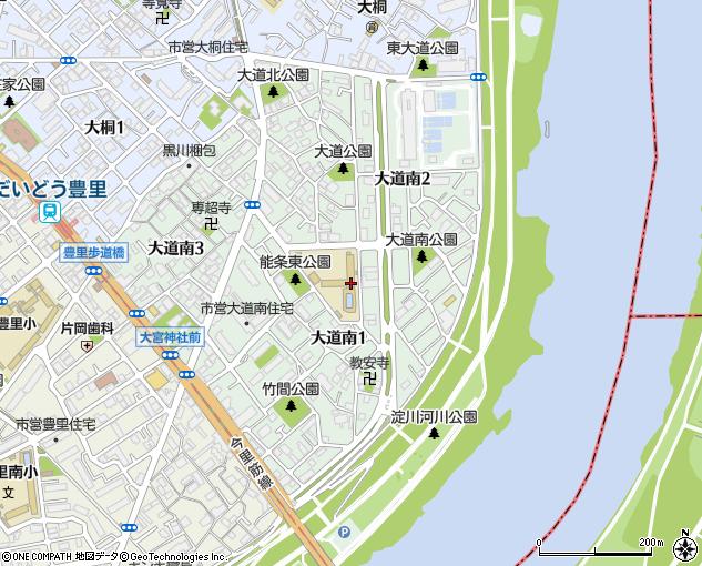 大阪市立大道南小学校(大阪市/小学校)の電話番号・住所・地図 ...