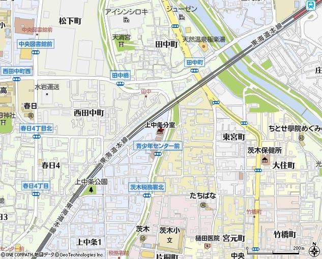 茨木市役所 地域の工事センター
