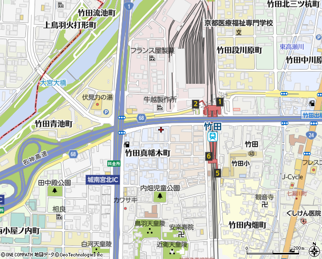 55タクシー予約センター(京都市/タクシー)の地図・住所 ...