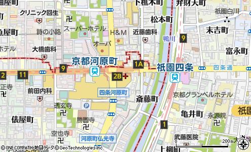 d7385d616e198 ビューティーフェイス 京都マルイ店(京都市 エステサロン)の地図・住所 ...