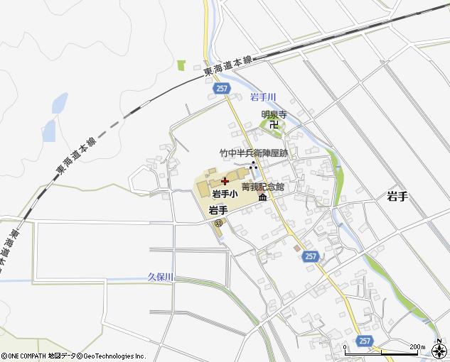 垂井町立岩手小学校(不破郡垂井町/小学校)の電話番号・住所・地図 ...