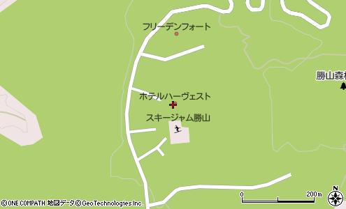 ホテル ハーベスト 勝山