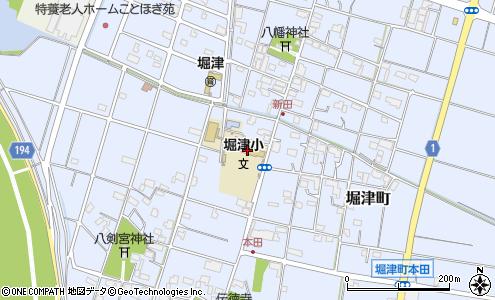 羽島市立堀津小学校(羽島市/小学校)の電話番号・住所・地図 ...