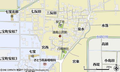 遠島公民館(あま市/公民館)の住所・地図|マピオン電話帳