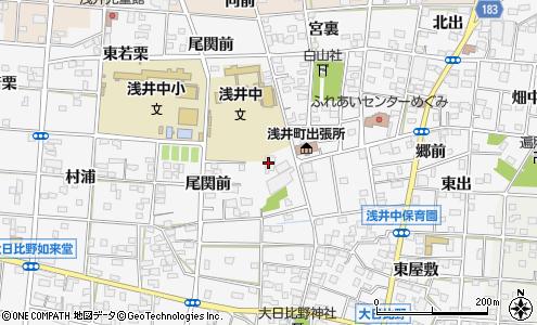 愛知西農業協同組合 浅井支店(一宮市/その他施設・団体)の電話番号 ...