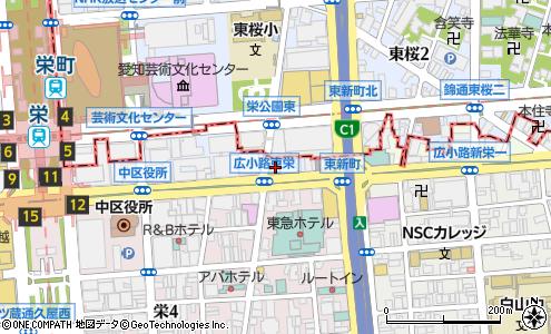 ホテル エス プル 名古屋 栄