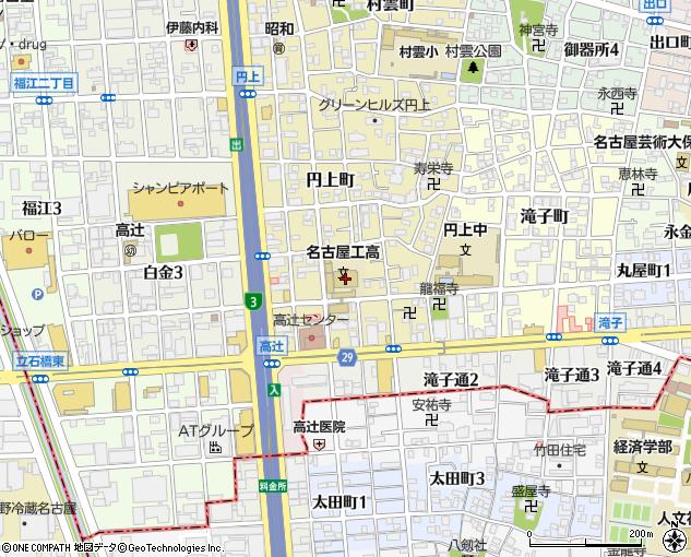 私立名古屋工業高校(名古屋市/高校)の地図・住所・電話番号 ...