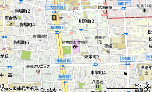 市 博物館 名古屋