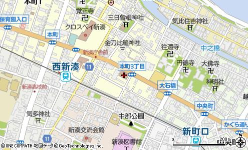 射水新湊郵便局(射水市/郵便局・日本郵便)の電話番号・住所・地図 ...
