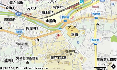 あさいクリニック 瀬戸市 病院 の地図 住所 電話番号 マピオン電話帳