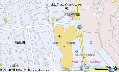 イオンシネマ高崎 高崎市 イベント会場 の電話番号 住所 地図 マピオン電話帳