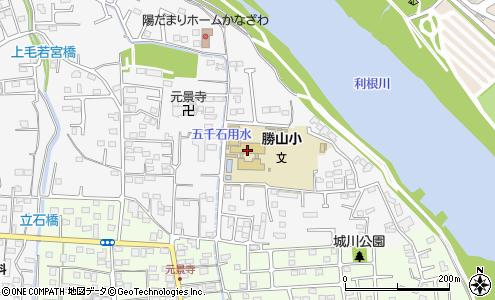 前橋市立勝山小学校(前橋市/小学校)の電話番号・住所・地図 ...