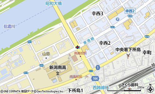 上所島(新潟市/地点名)の住所・地図|マピオン電話帳