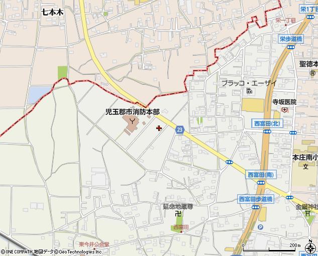 セブンイレブン本庄西富田店