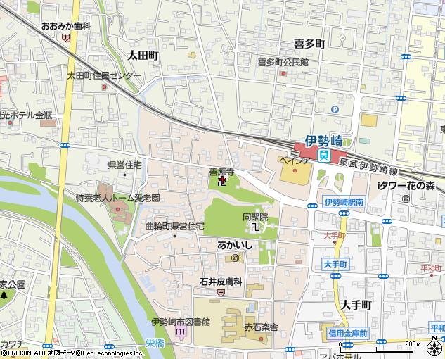 善應寺(伊勢崎市/神社・寺院・仏閣)の住所・地図|マピオン電話帳