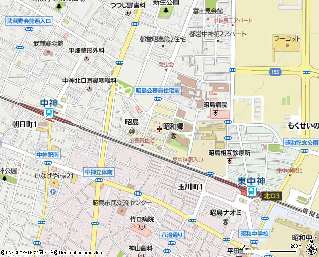 関東財務局昭島住宅