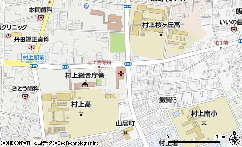 村上郵便局 ATM(村上市/郵便局・日本郵便)の電話番号・住所・地図 ...