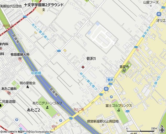 東京新宿木材埼玉センター(新座市/建設資材販売)の地図 ...