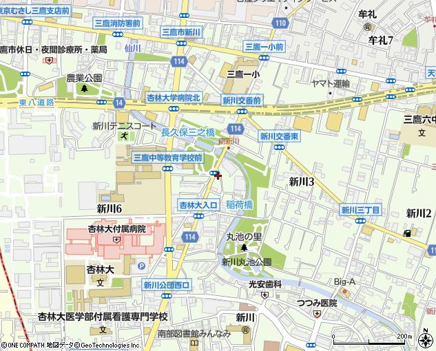 読売センター 三鷹新川