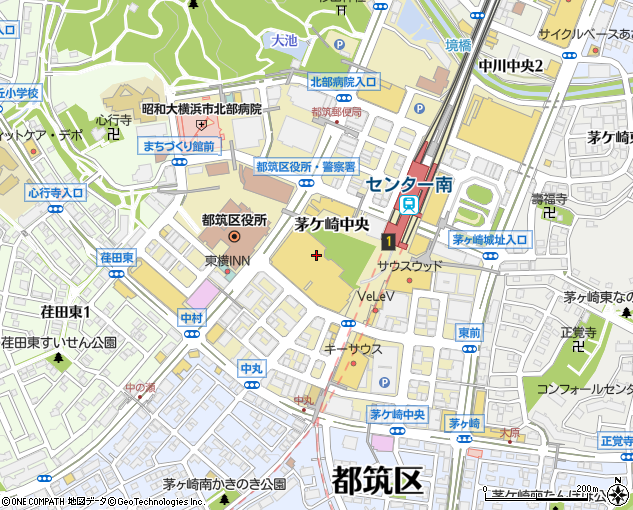 港北東急ショッピングセンター 防災センター(横浜市/デパート ...