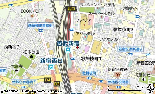 東京中央美容外科 新宿院(新宿区/病院)の電話番号・住所・地図 ...