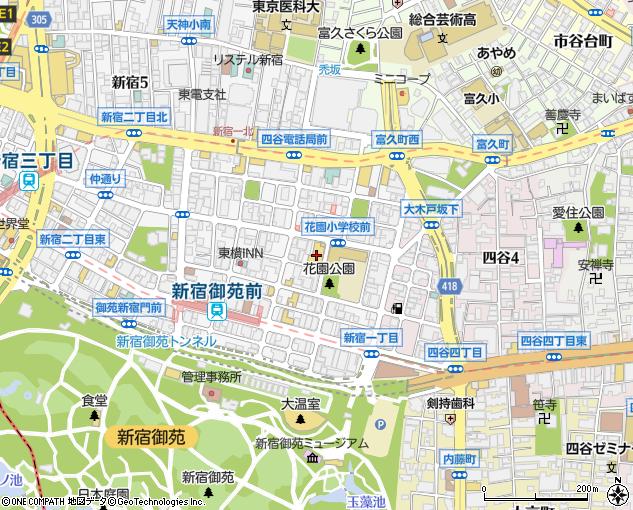 新宿 シアター サン モール アクセス
