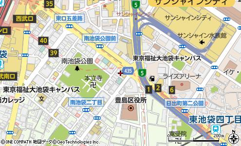 カフェ・ド・クリエ池袋第一生命ビル店の大きい地図を見る
