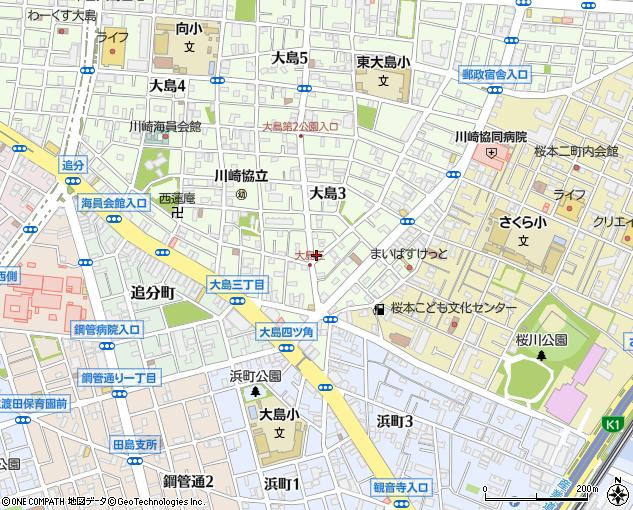 ライフ・ケアプラン川崎(川崎市/在宅介護サービス)の地図 ...