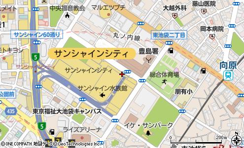 東池袋出入口(豊島区/首都高速・都市高速出入口)の住所・地図 ...