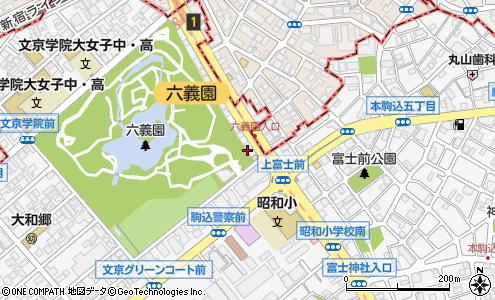 本郷通り(文京区/道路名)の住所・地図|マピオン電話帳
