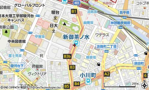 本郷通り(千代田区/道路名)の住所・地図|マピオン電話帳