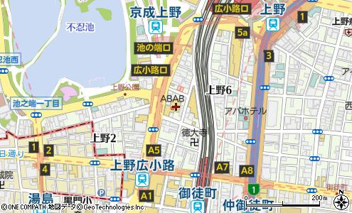 43f71fb5ba9 赤札堂 上野店(台東区/スーパーマーケット)の地図・住所・電話番号 ...