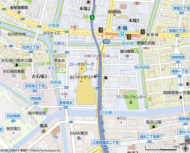 株式会社りそな銀行 東京外国事務センター(江東区/銀行)の ...