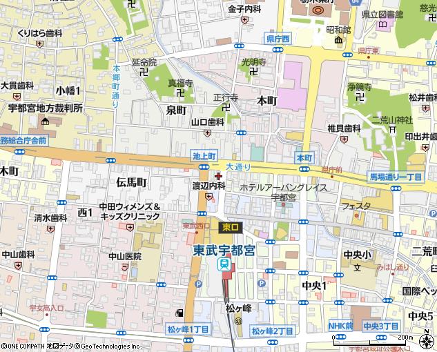 上野 文具 宇都宮
