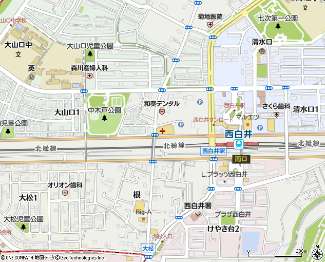 ランドロームジャパン フードマーケットフレンド西白井店 白井市