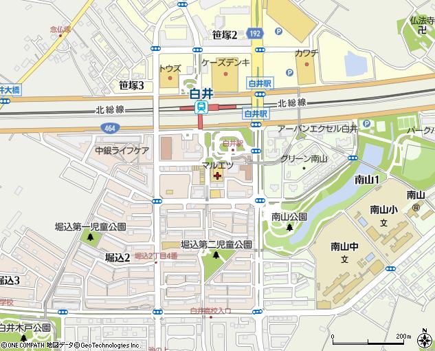 マルエツ白井店 白井市 スーパーマーケット の地図 住所 電話番号