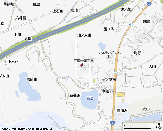 松阪興産株式会社 福島工場(西白河郡泉崎村/窯業)の地図 ...