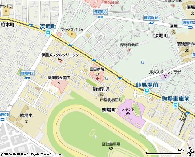 函館 富田 病院