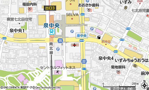 泉警察署(仙台市/警察署・交番)の電話番号・住所・地図 マピオン電話帳