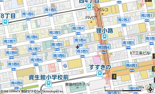 ローリーrowlly札幌市美容院美容室床屋の地図住所電話