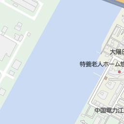広島銀行江波支店 広島市中区 銀行 Atm の地図 地図マピオン