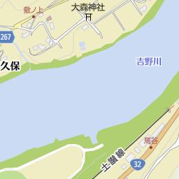 三好市池田総合体育館(三好市/体育館)の地図|地図マピオン